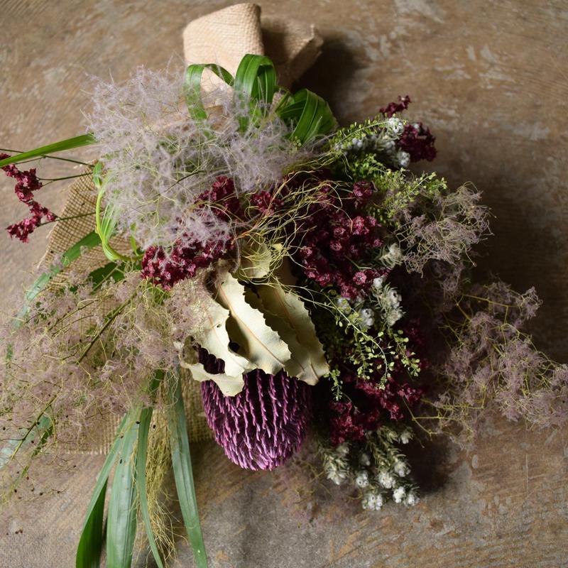 野の花屋  バンクシャーとスモークツリースワッグ