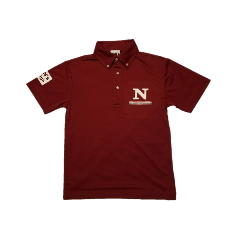 Dry Fit Golf Polo(Burgundy)
