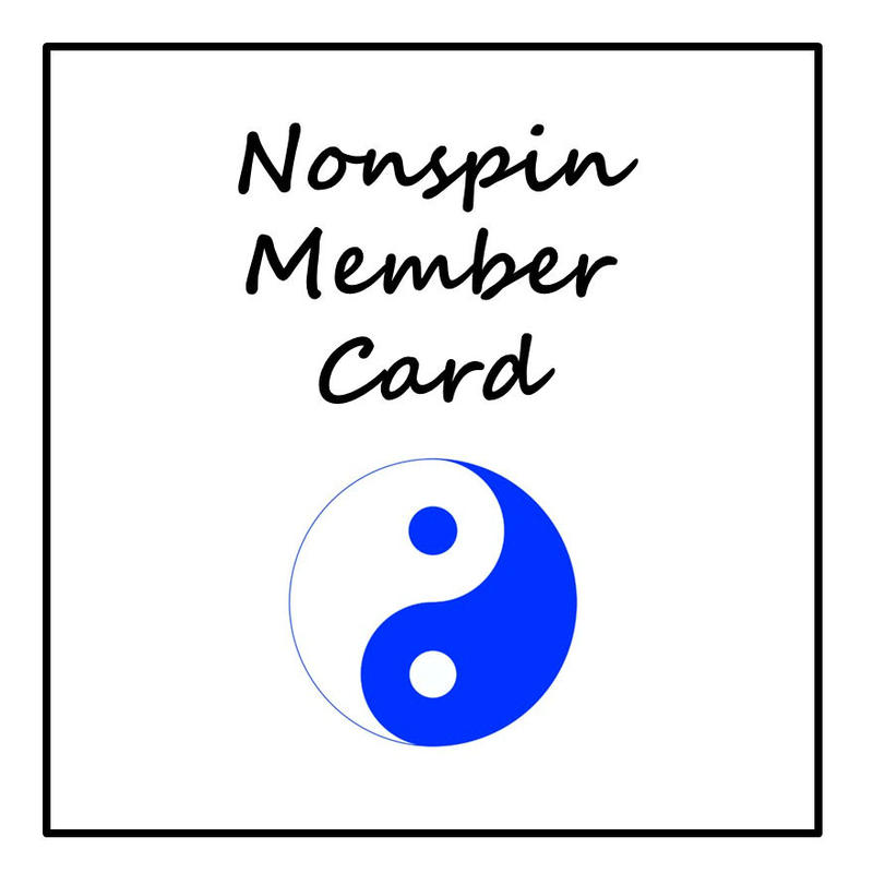 Nonspin 会員カード
