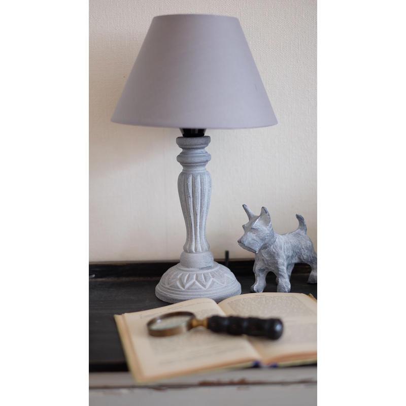フレンチグレー テーブルランプ