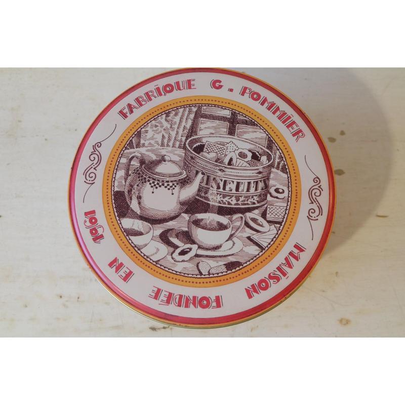 コントワール・ドゥ・ファミーユ ビスキュイ缶