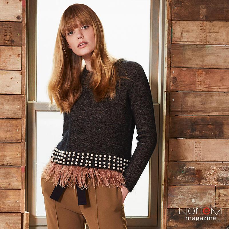 【ALYSI】(08255022)セーター NorieM magazine #34 P42掲載