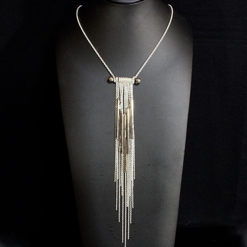 Long Tube Necklace  / ロングチューブネックレス