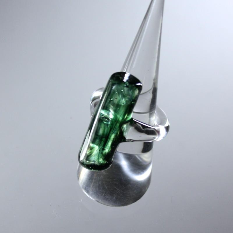 Square Ring Emerald /スクエアリング エメラルド