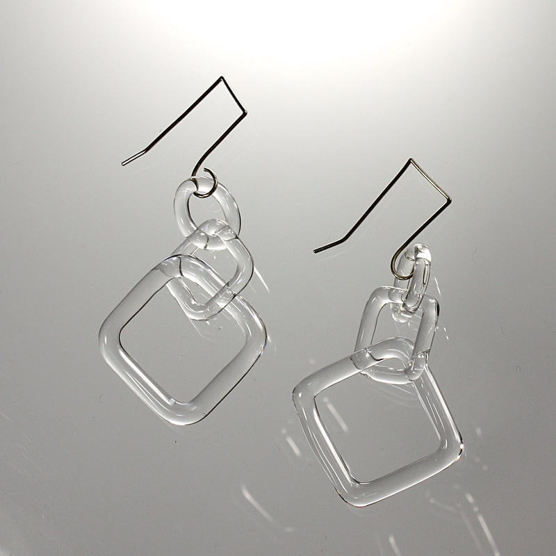 Square Earrings / スクエアピアス