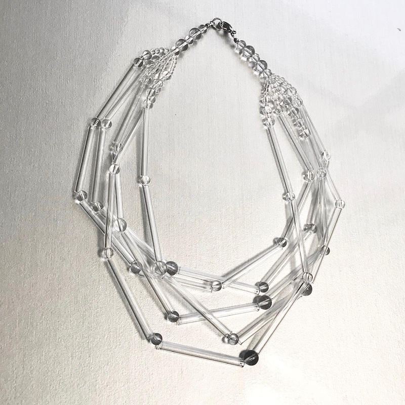 Tube Ball Necklace / チューブボールネックレス