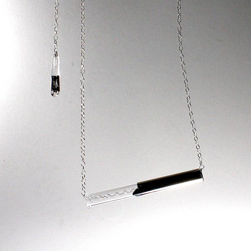Platinum Bar Necklace / プラチナバーネックレス