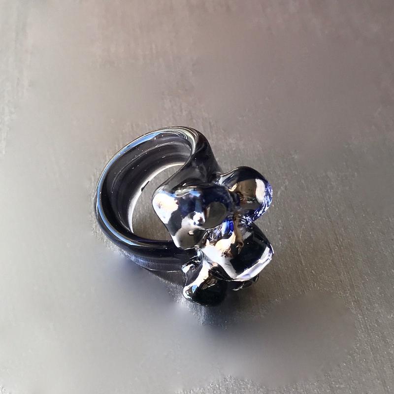 Mid Night Blue Ring