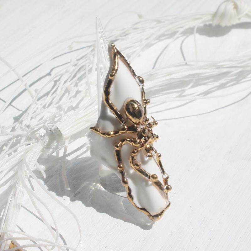 Spider Ring White Gold / スパイダーリング ホワイトゴールド