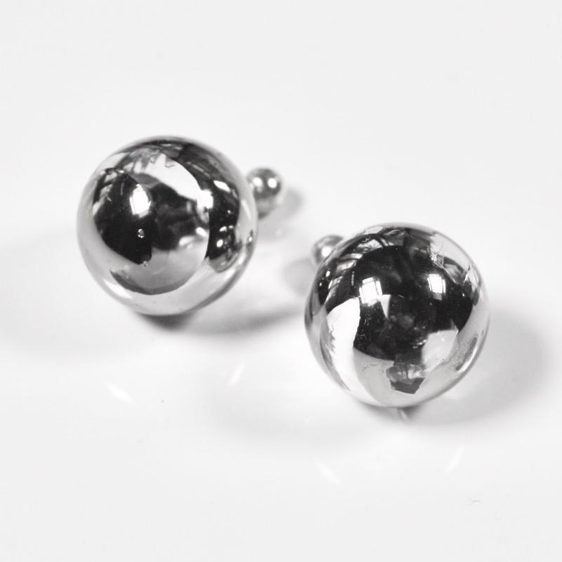 Bonbon Earrings S Plattinum  / ボンボンイヤリングS  プラチナ