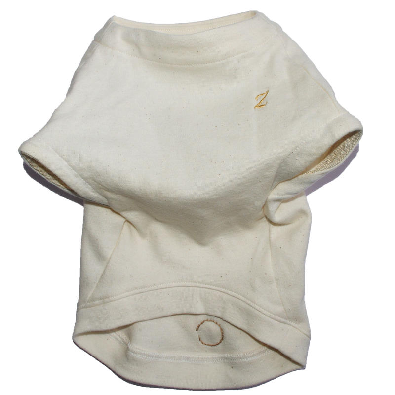 Organic cotton French sleeve T-shirt M size