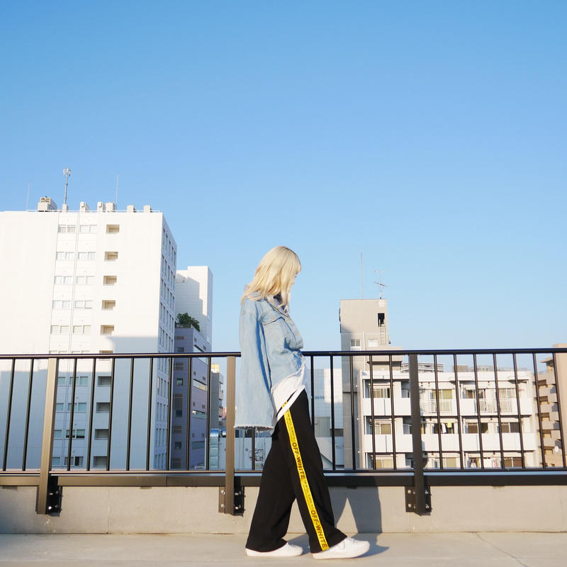 【予約販売】wide sleeve denim jacket