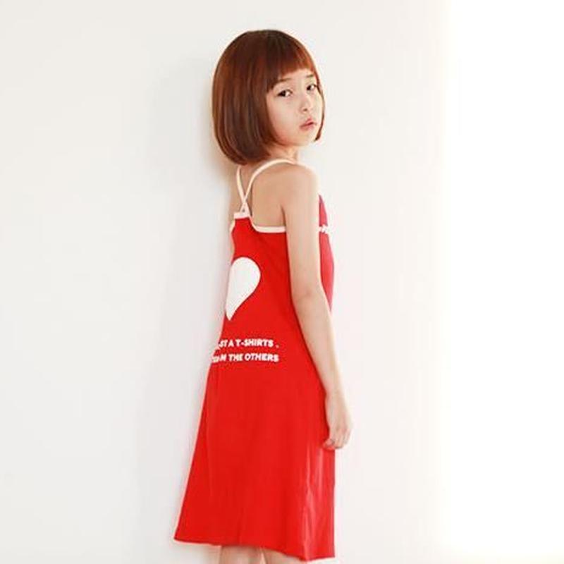 모에첼 드레스 [ 레 드 ]|MO.HL dress〔レッド〕