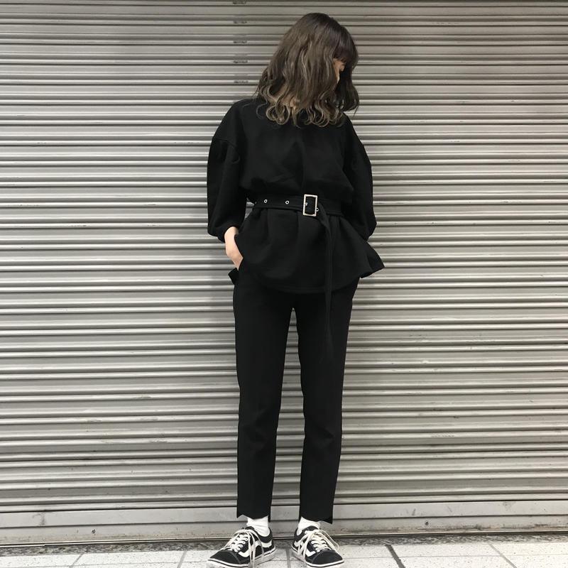 Belt mark pullover