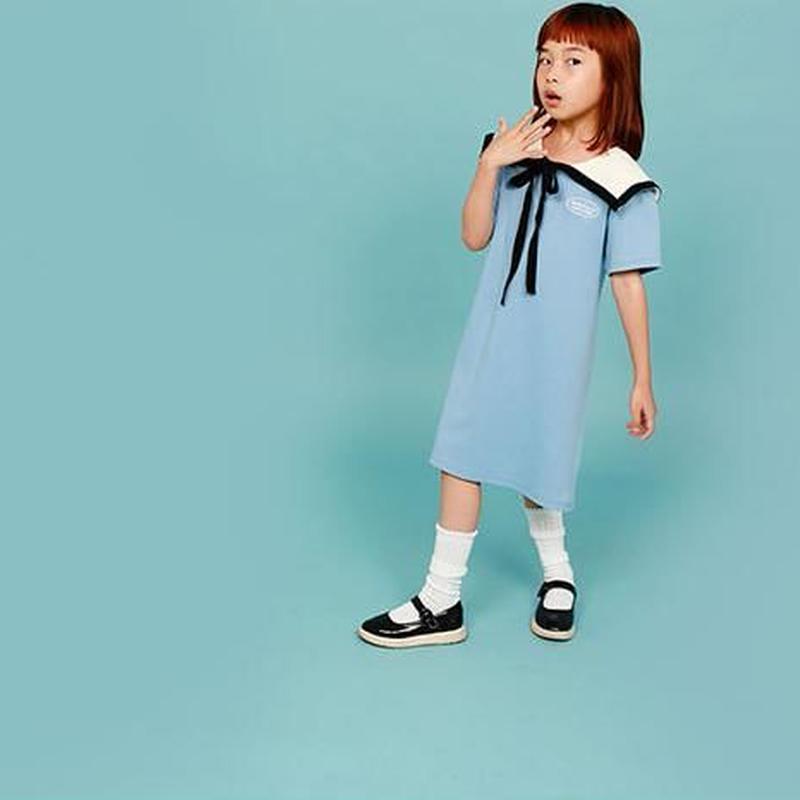썸머세일러 드레스〔스 카 이〕 | summer sailor dress〔スカイ〕