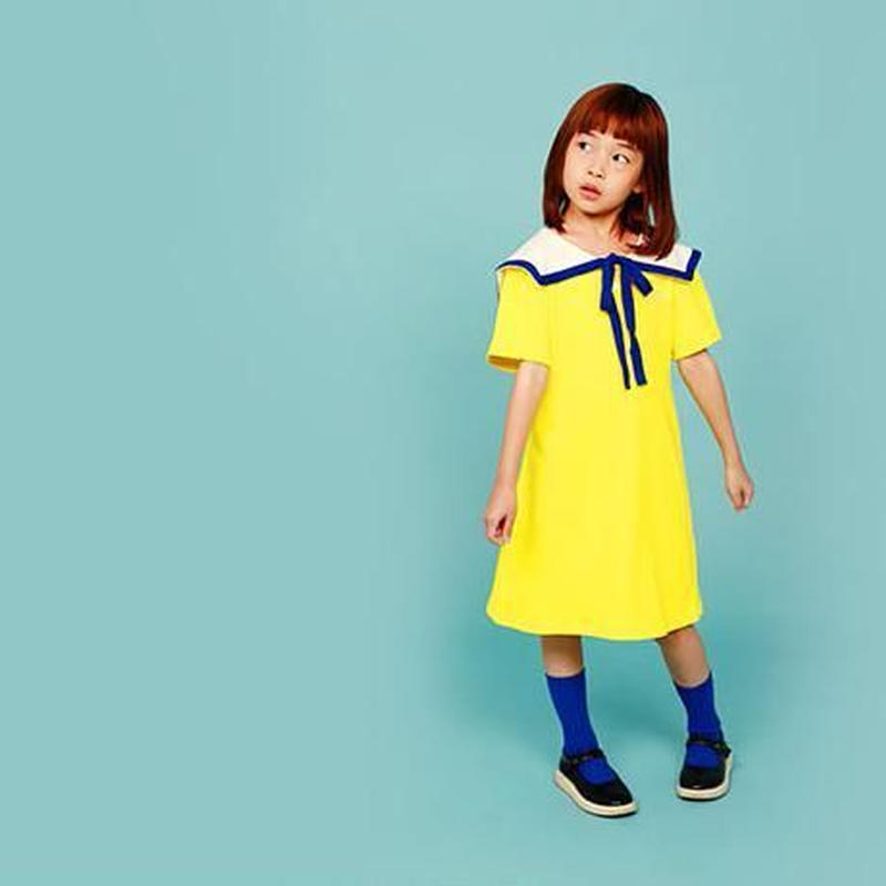썸머세일러 드레스 [ 옐로 ] | summer sailor dress〔イエロー〕