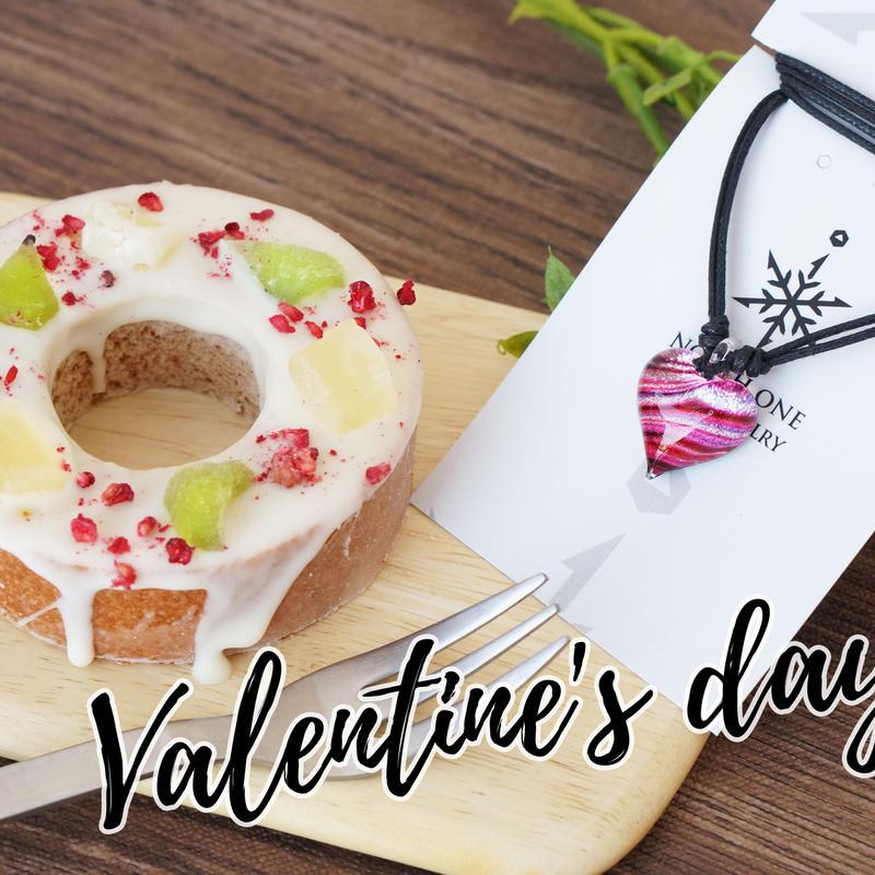バレンタイン特別企画!  Pink Line heart & marco pico