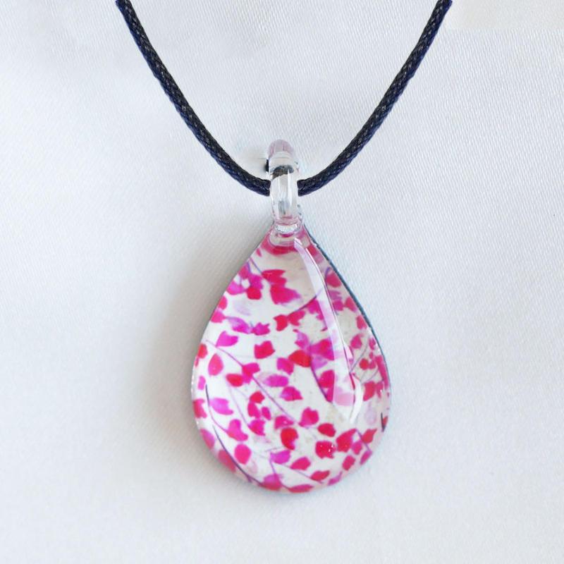 ドロップMサイズ Pink Flower Pattern [NDM-P-012]