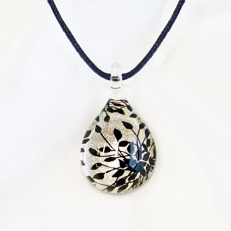 ドロップMサイズ Silver Leaf [NDM-S-006]