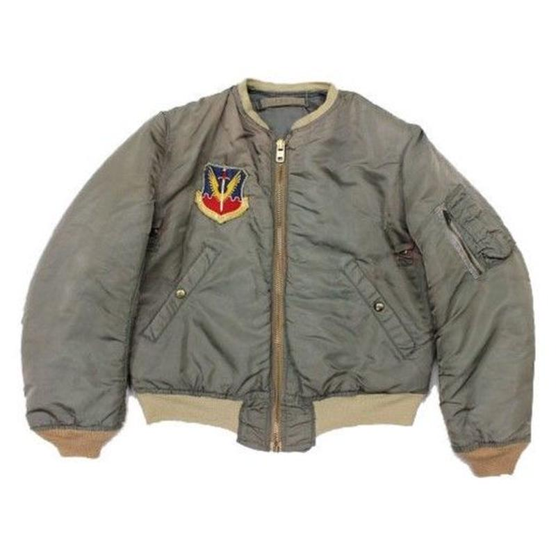50's USAF JACKET, FLYING MAN'S, INTERMEDIATE, TYPE MA-1 (about MEDIUM) MIL-J-8279B 実物 フライトジャケット