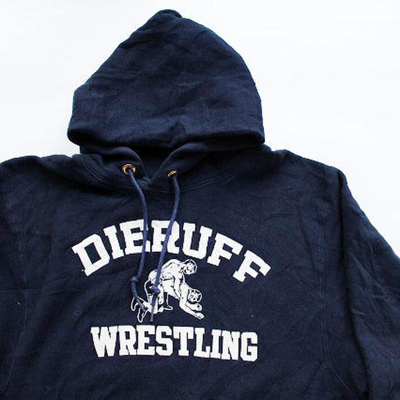 MINT 80's Champion Reverse Weave Hooded Sweat Shirt Navy(M) チャンピオン リバースウィーブ フーディー 紺