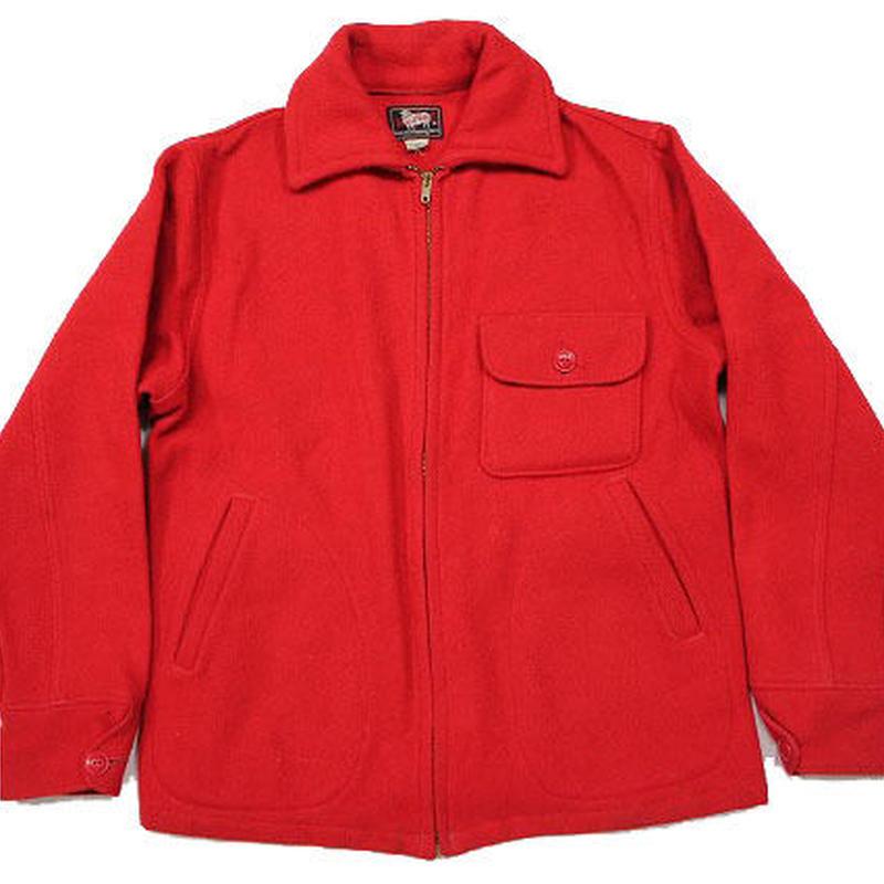 50's〜 WOOLRICH Wool sport Jacket Red (38) ウールリッチ ウール スポーツジャケット 赤