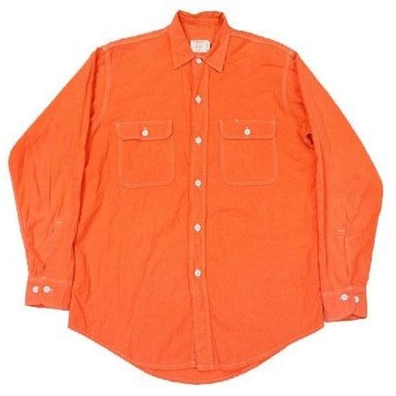 70's〜 JCPenny BIG MAC Chambray Shirt  Orange(M) JCペニー ビッグマック シャンブレーシャツ オレンジ