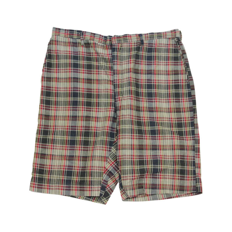 60's Unknow INDIA MADRAS Short (about 33) マドラスチェック コットンショーツ