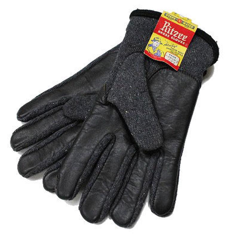NOS 50's〜 Ritzee DRESS GLOVES (M) デッドストック コットン×ウール ドレスグローブ 手袋