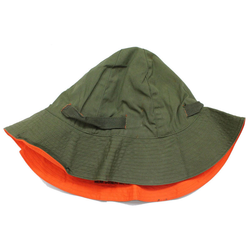 NOS 60's U.S.MILITARY HAT, REVERSIBLE, SUN リバーシブル サンハット