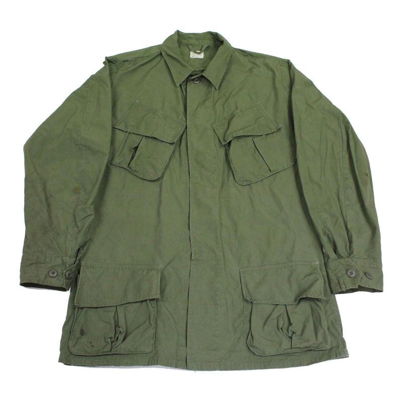60's U.S.ARMY JUNGLE FATIGUE JACKET 3rd MODEL (MEDIUM-LONG) ジャングル ファティーグ ジャケット ノンリップ
