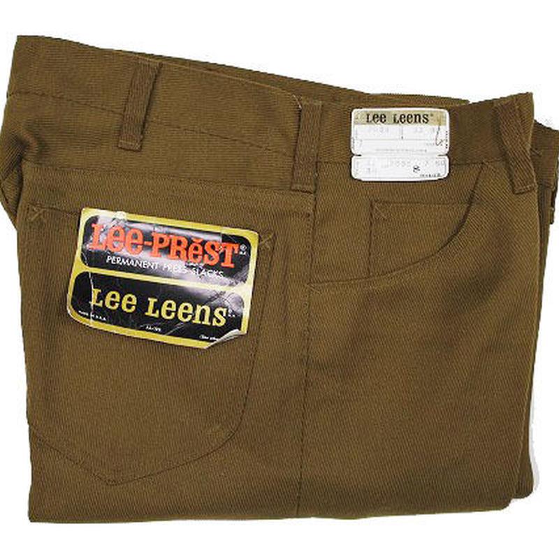 NOS 70's Lee Leens 7035 Tapered Pants (32/30) デッドストック リー テーパードパンツ