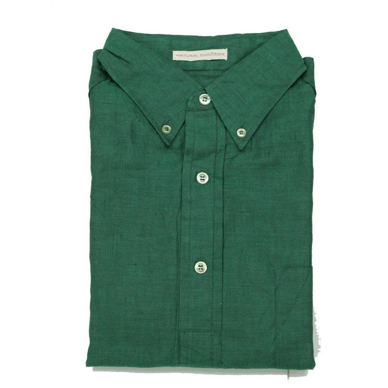 NOS 60's Bond Street Pullover Cotton B.D.Shirts (M) デッドストック プルオーバー 3点留め ボタンダウンシャツ