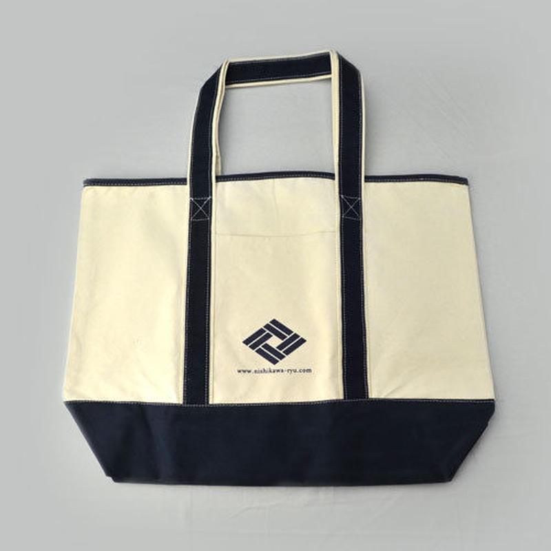 トートバッグ大(紺色)