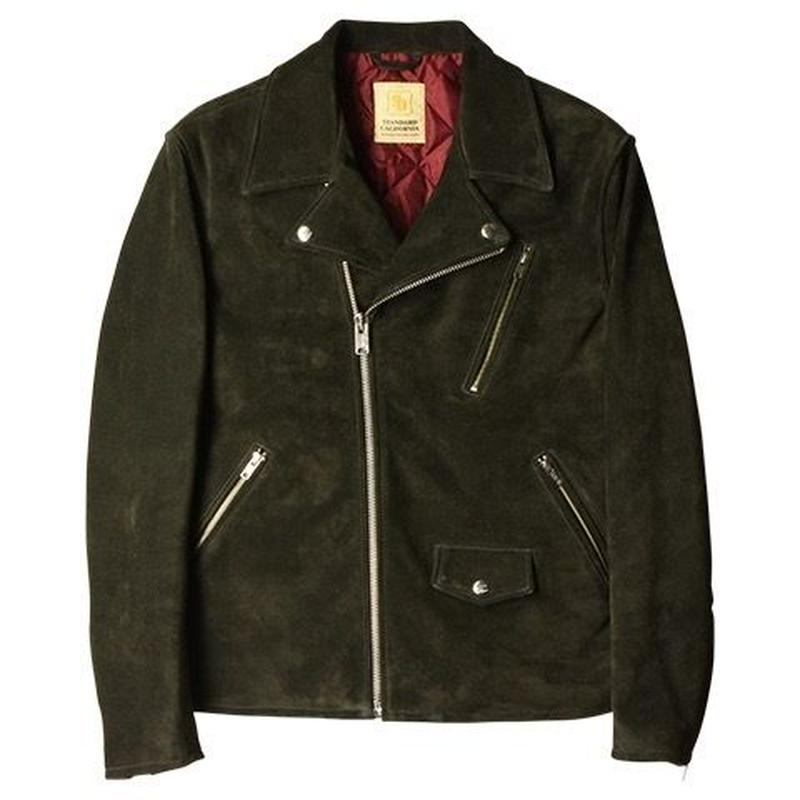 『SD Cow Suede Double Riders Jacket』