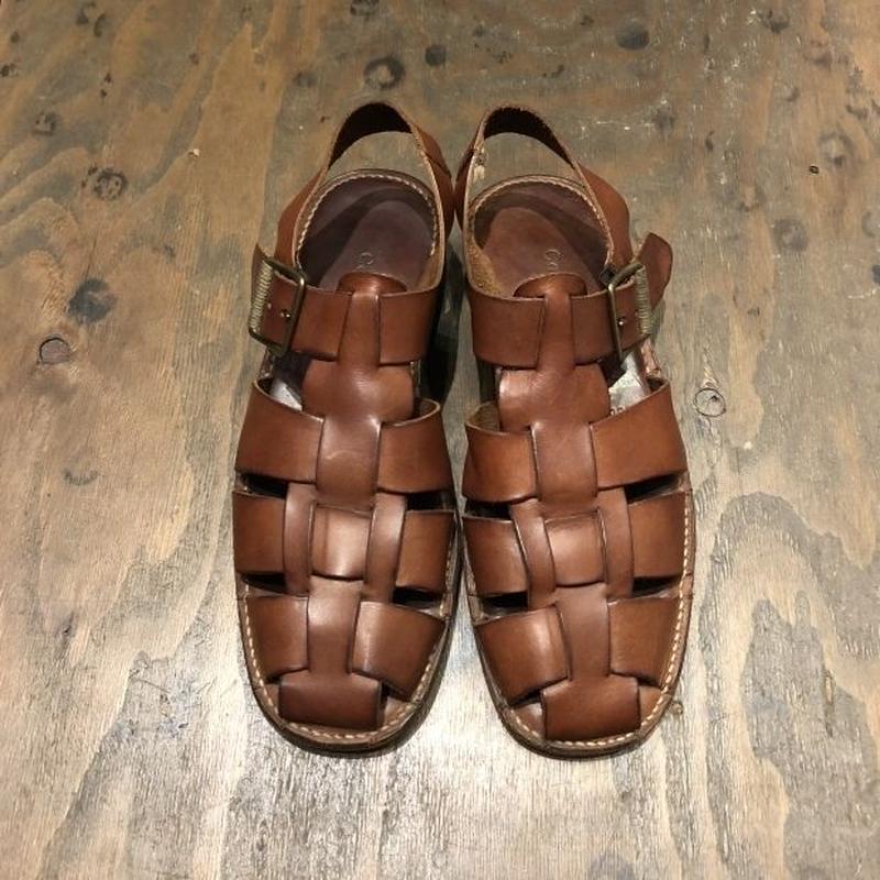 "90's〜 ""COLE HAAN"" leather sandal ブラジル製"