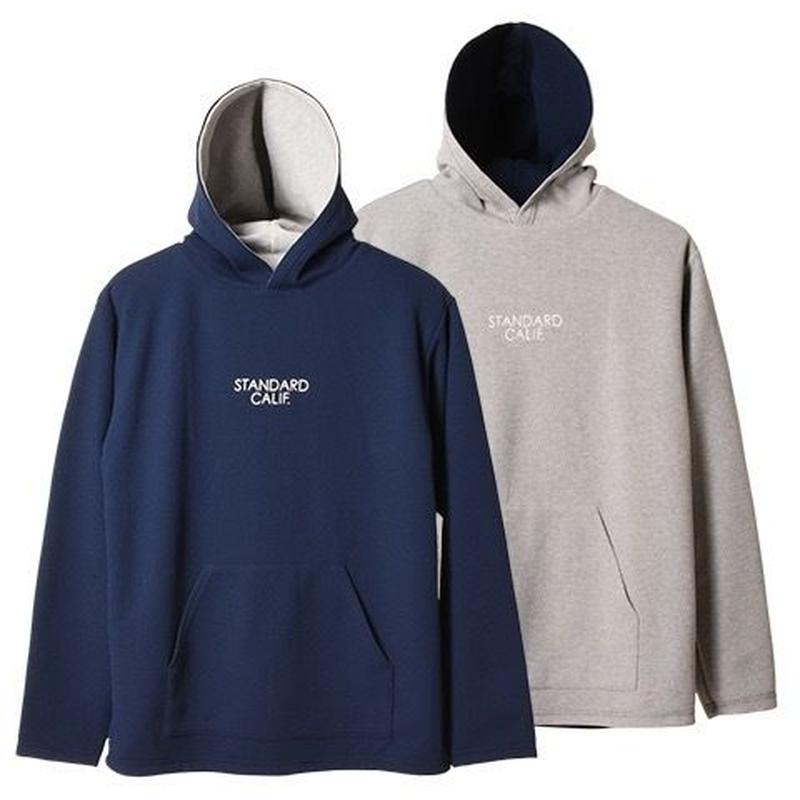 『SD Dry Waffle Thermal Reversible Pullover Hood』
