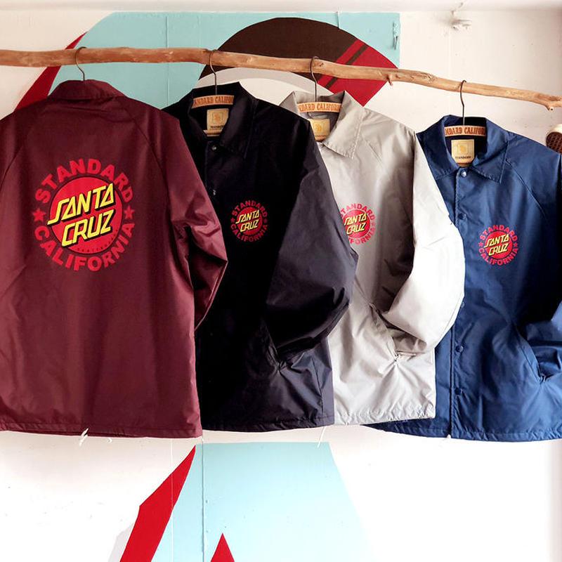 『SANTA CRUZ × SD Coach Jacket Type 2』