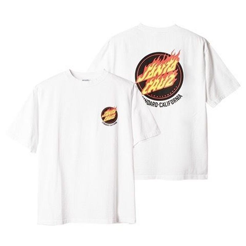 『SANTA CRUZ × SD Flame Logo T』