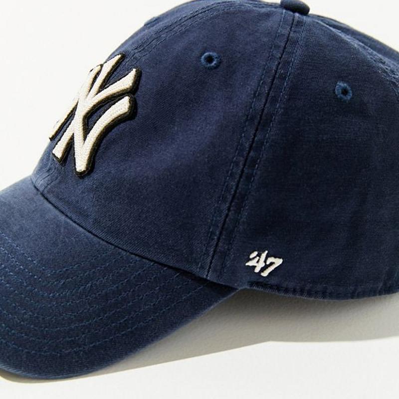 【47 Brand】限定MLB ケーブルロゴベースボールキャップ