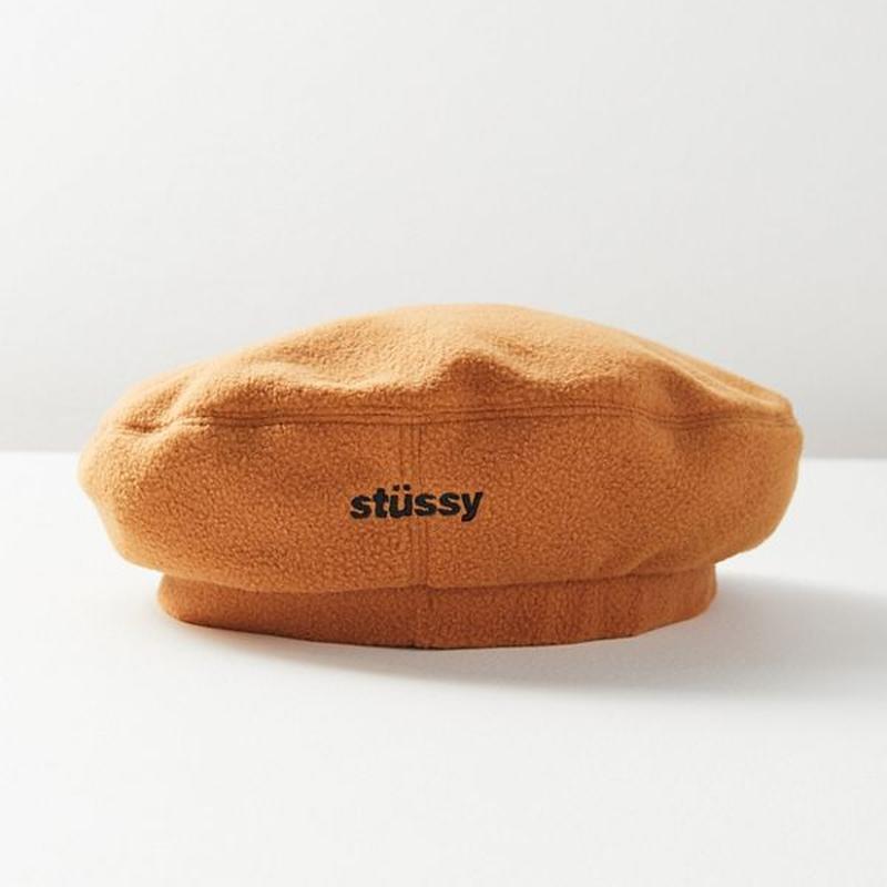 【Stussy】リストルポーラーベレー帽