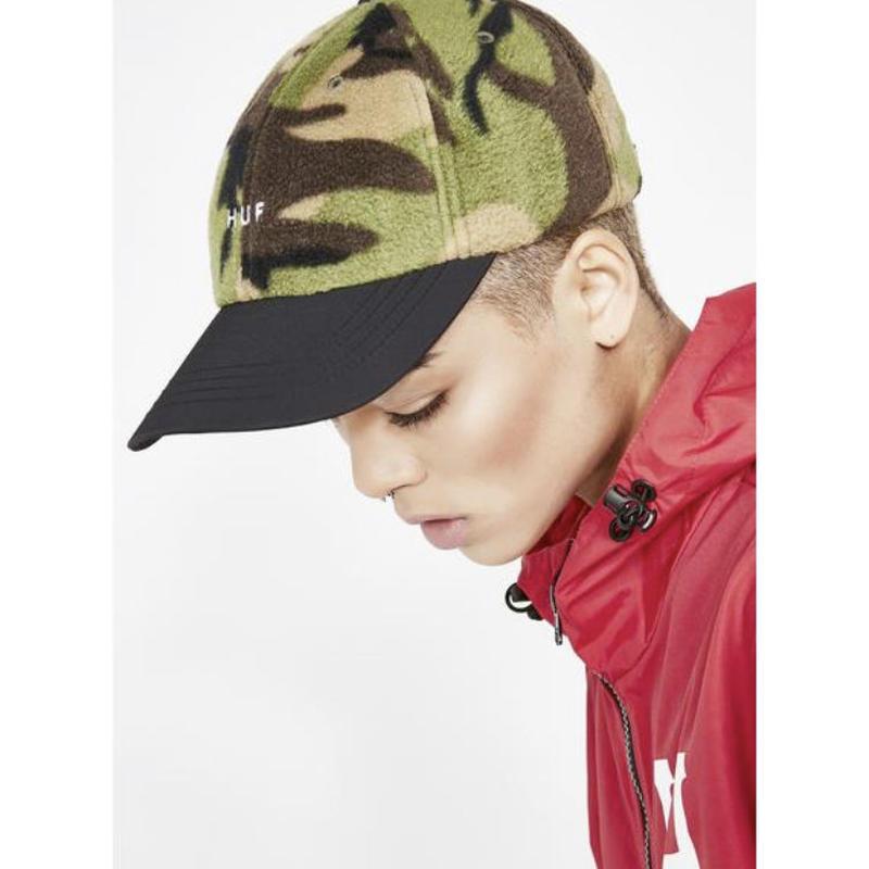 【HUF】帽子 キャップ 迷彩柄