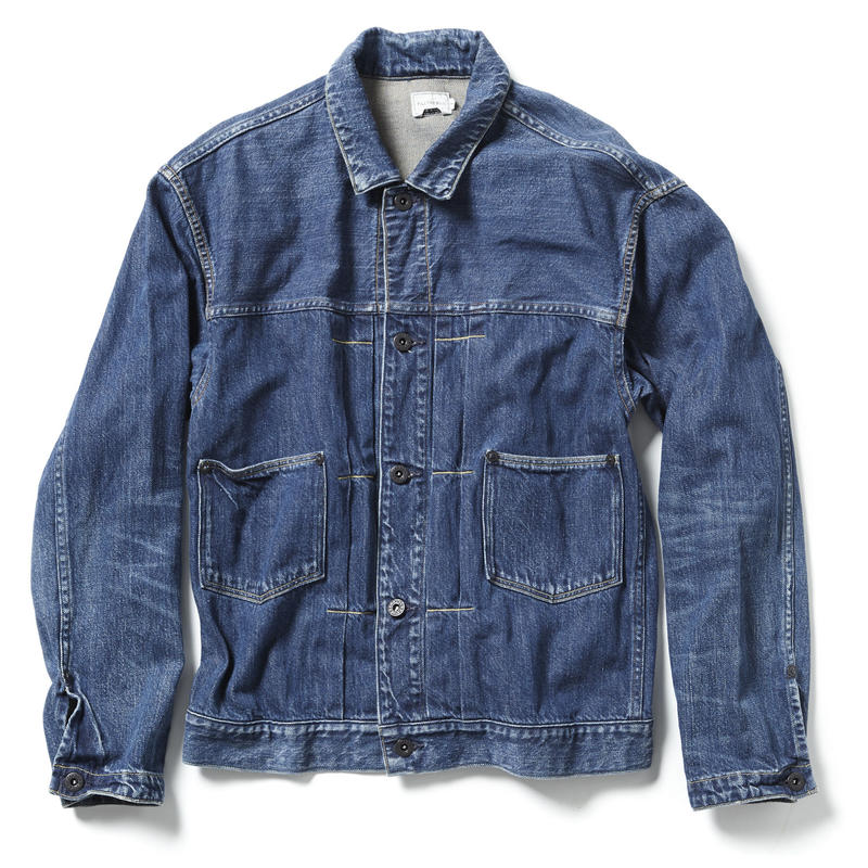 11oz LOOSE DENIM JACKET【UNISEX 】