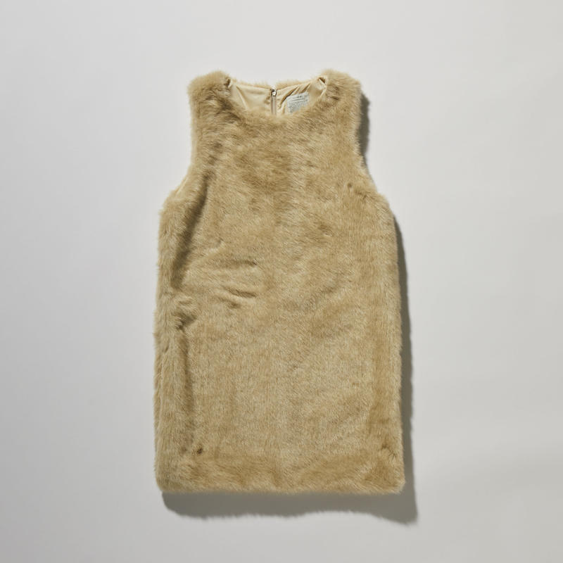 SHAGGY LONG VEST【WOMENS】