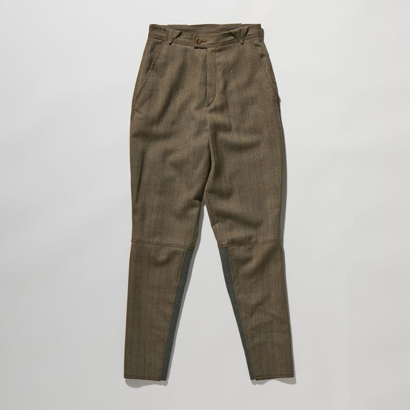 WOOL CHECK JOPPERS PANTS【WOMENS】
