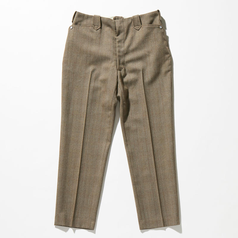 WESTERN WOOL CHECK TROUSERS【MENS】