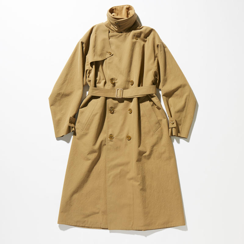 BIG TRENCH COAT【MENS】