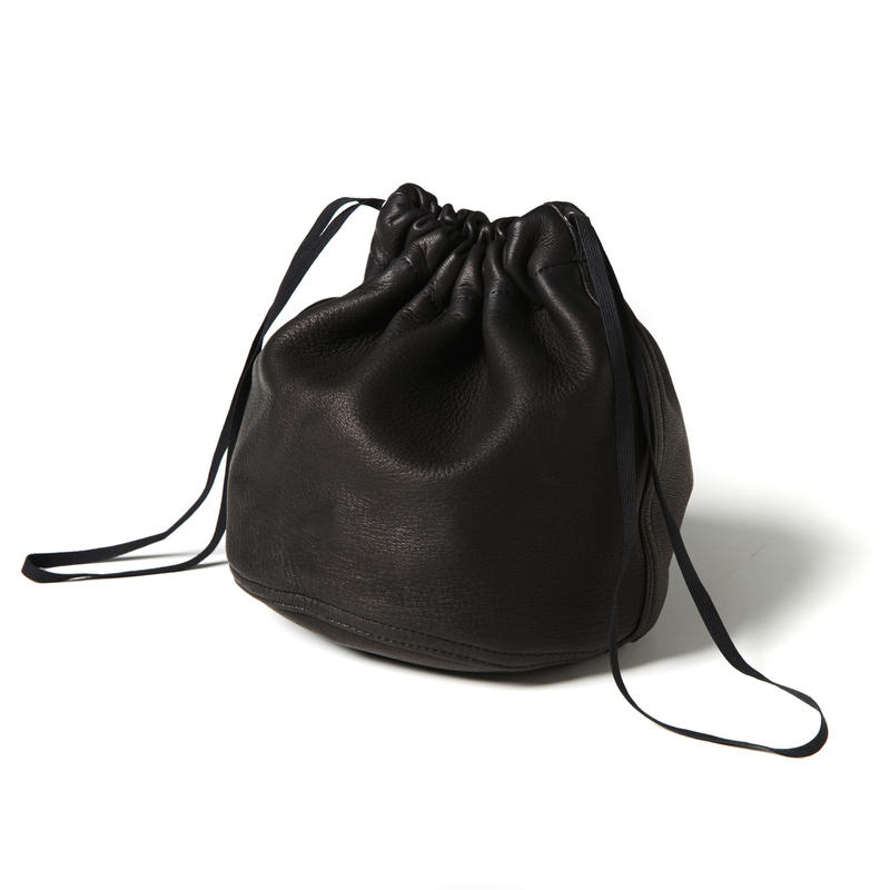 MILITARY LEATHER PURSE (BLACK)