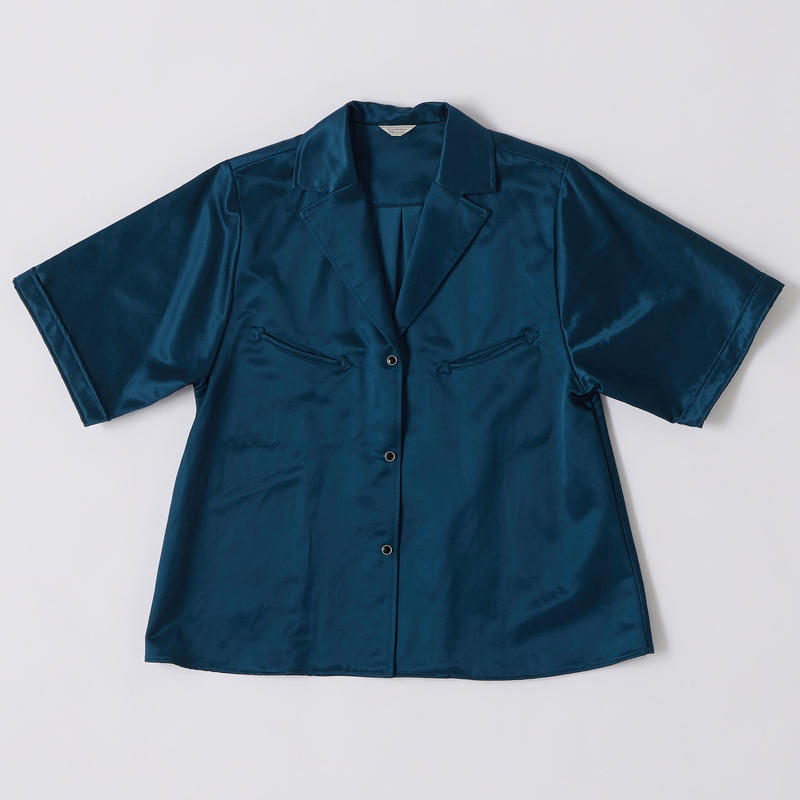 SATIN WESTERN SHIRTS【WOMENS】
