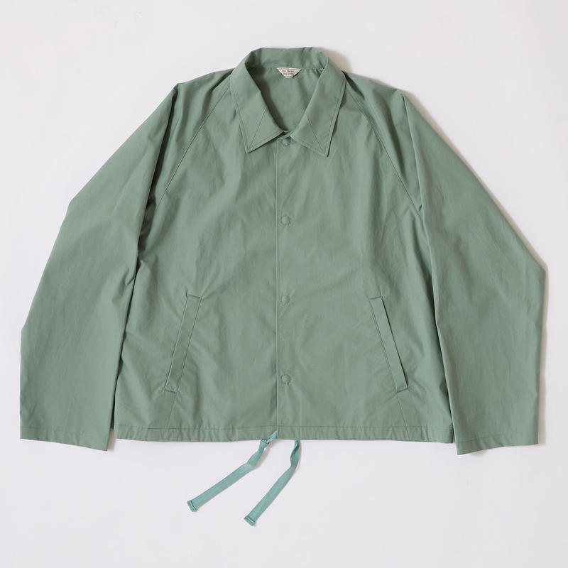 PIN CHECK SHORT COACH JACKET【MENS】